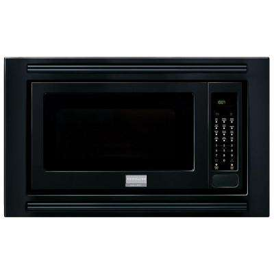 2.0 cu. ft. Built-In Microwave in Black with Sensor Cooking