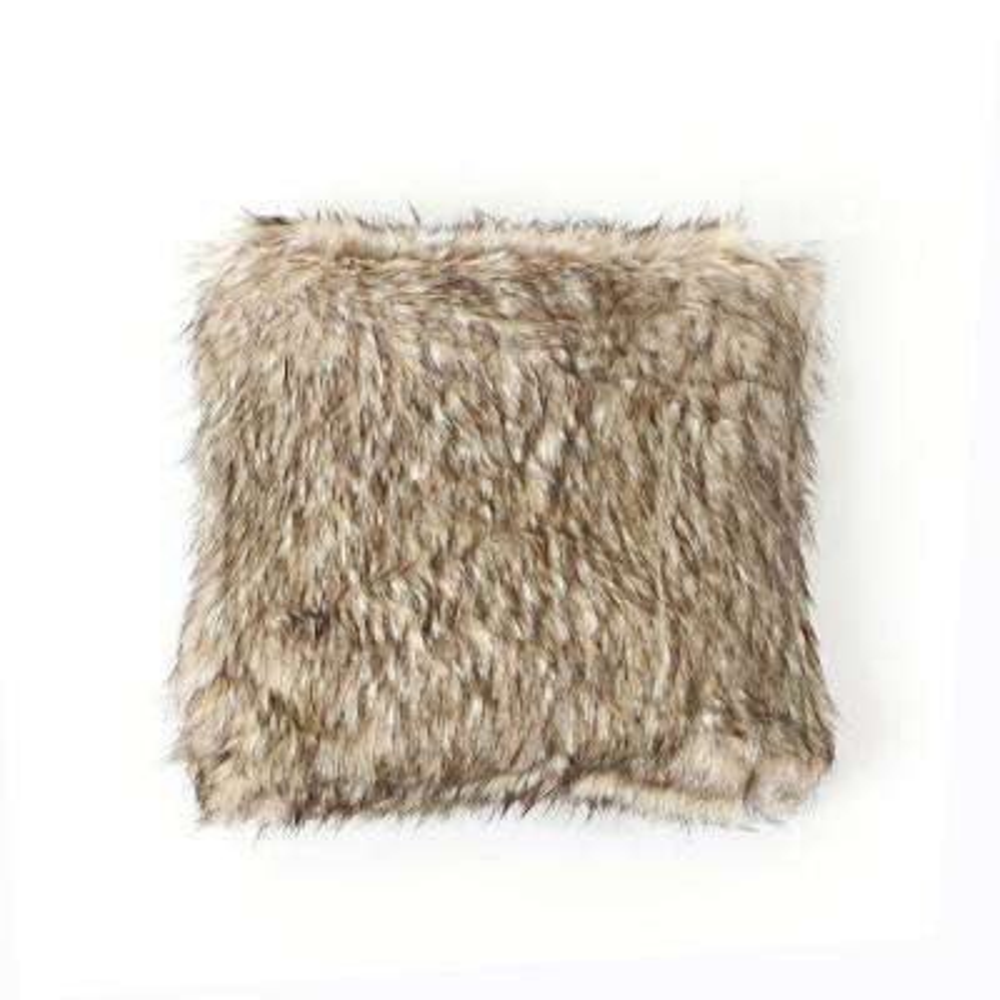 Pearl Finn Faux Fur Pillow