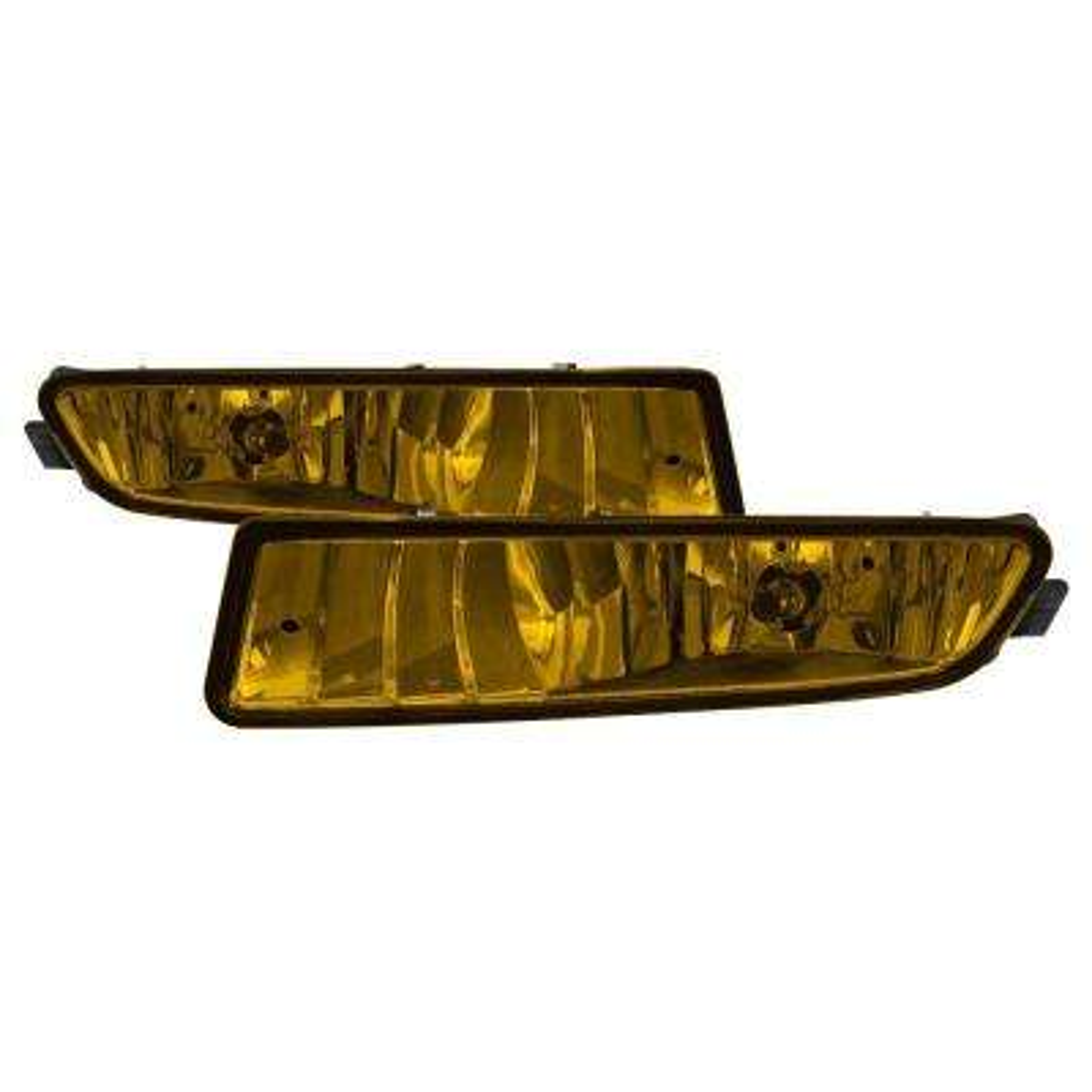 Acura TL 02-03 OEM Fog Lights wo/Switch - Yellow