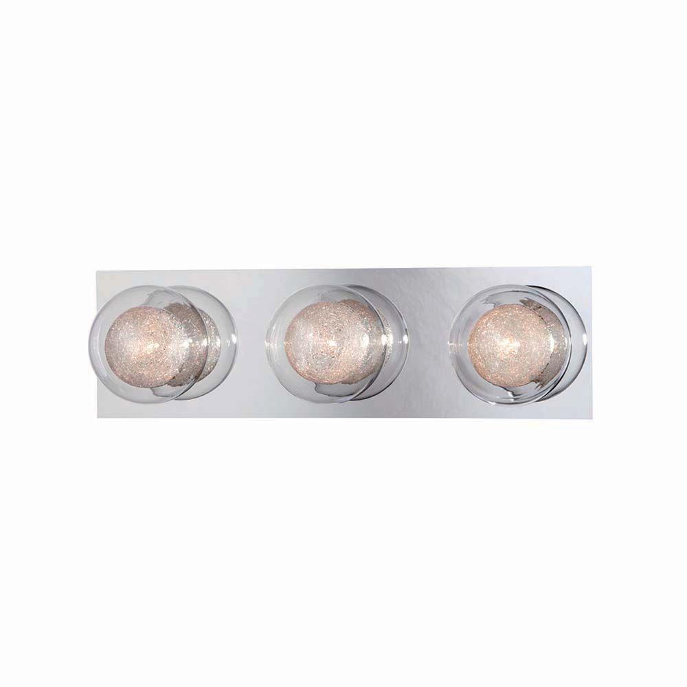 Hampton Bay Ashton 3-Light Chrome Bath Bar Light was $79.97 now $31.99 (60.0% off)