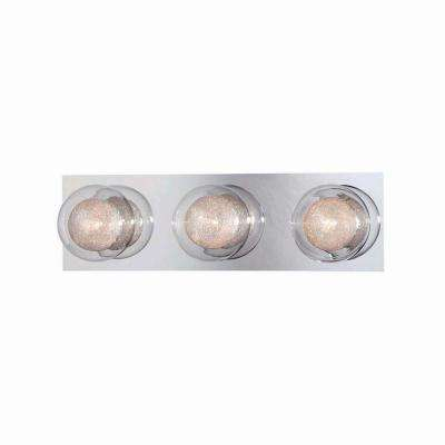 Ashton 3-Light Chrome Bath Bar Light