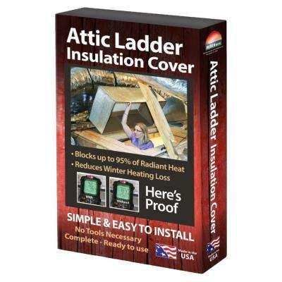 Air Double Reflective Pull-Down Attic Ladder Insulation Protector