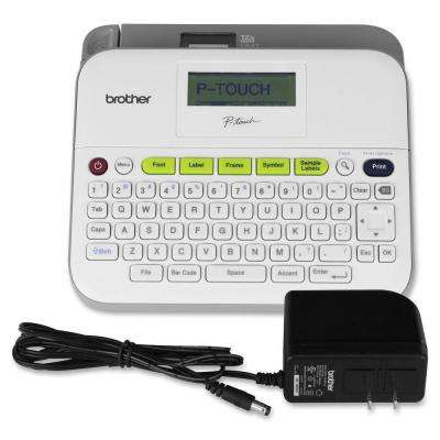 Versatile Label Maker with AC Adapter