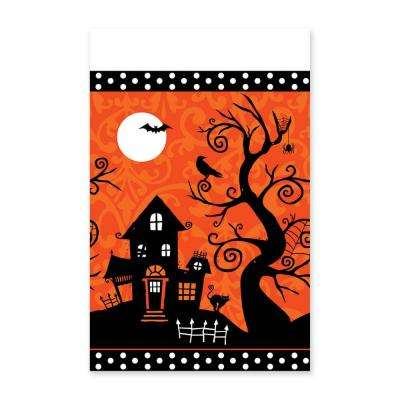 Halloween Frightfully Fancy Rectangular Table Cover (3-Pack)