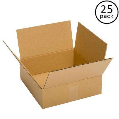 13 in. x 13 in. x 4 in. 25 Moving Box Bundle
