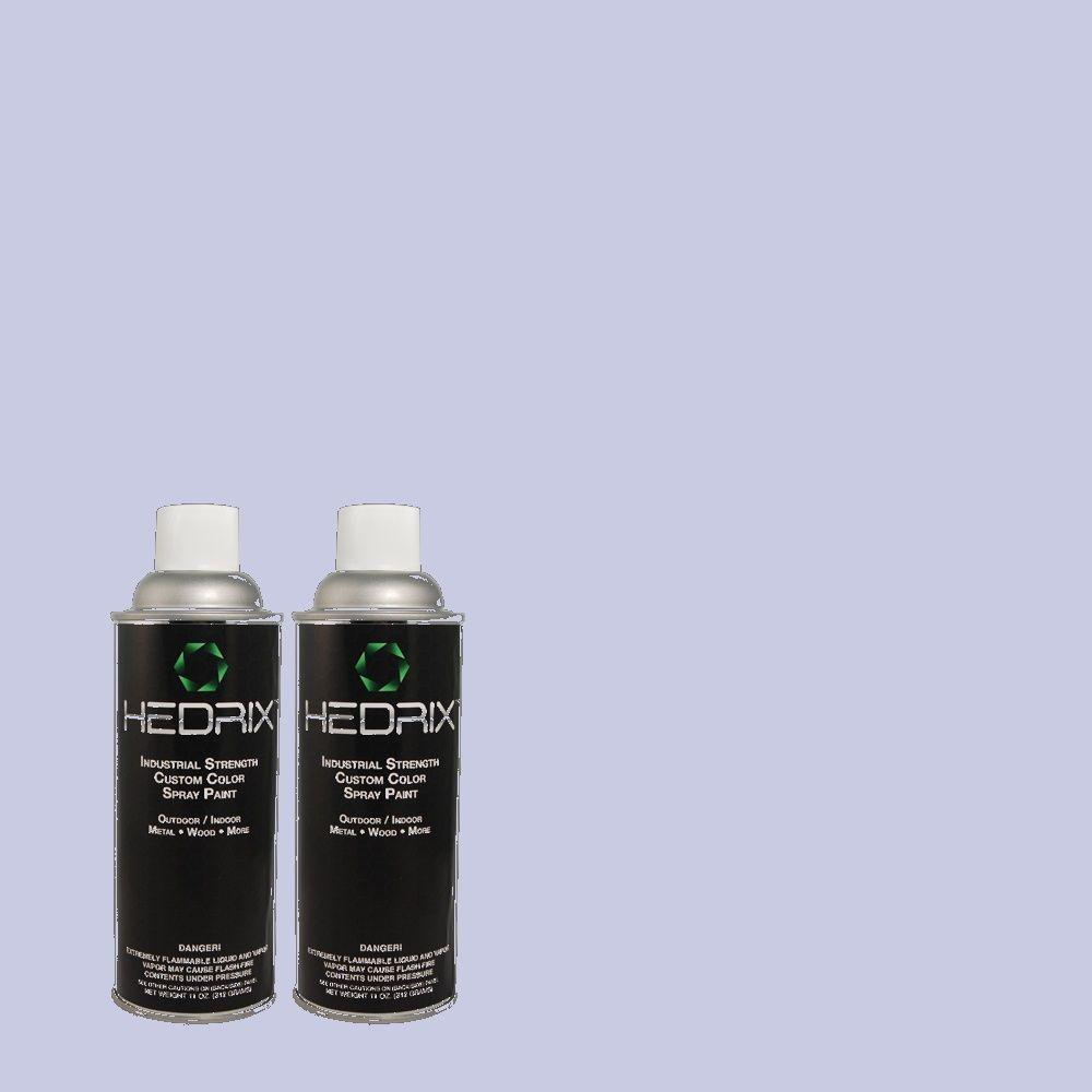 Hedrix 11 oz. Match of 600A-3 California Lilac Gloss Custom Spray Paint (2-Pack)