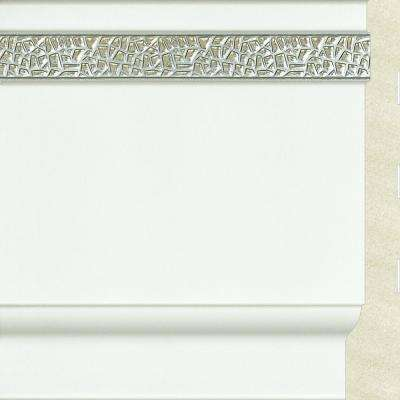 Sample Upscale Designs 0.7 in. x 4.5 in. x 6 in. Polystyrene Base Moulding
