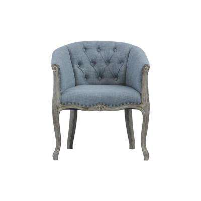 Jocelyn Upholstered Grey Occasional Chair