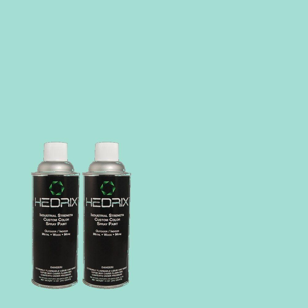 Hedrix 11 oz. Match of 490A-3 Sweet Rhapsody Gloss Custom Spray Paint (2-Pack)