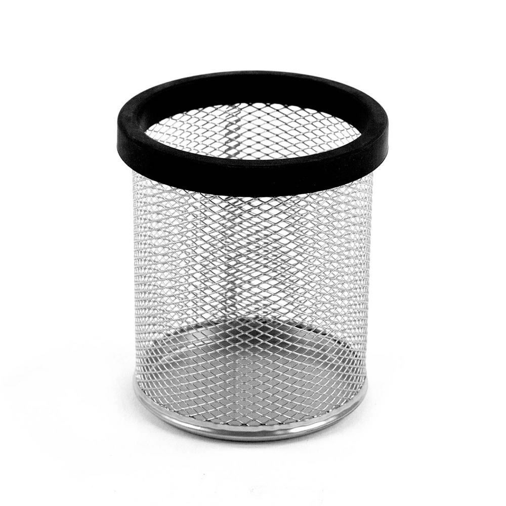 Digit Mesh Pencil Cup, Black