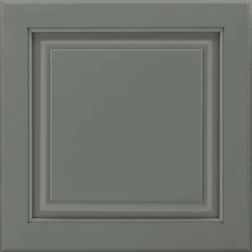 14-9/16 in. x 14-1/2 in. Cabinet Door Sample in Portola Painted Boulder