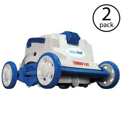 Turbo T Jet In-Ground Automatic Robotic Swimming Pool Cleaner (2-Pack)