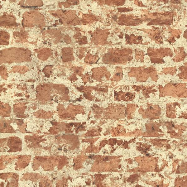 Advantage Faux Brick Wallpaper 2774-446289