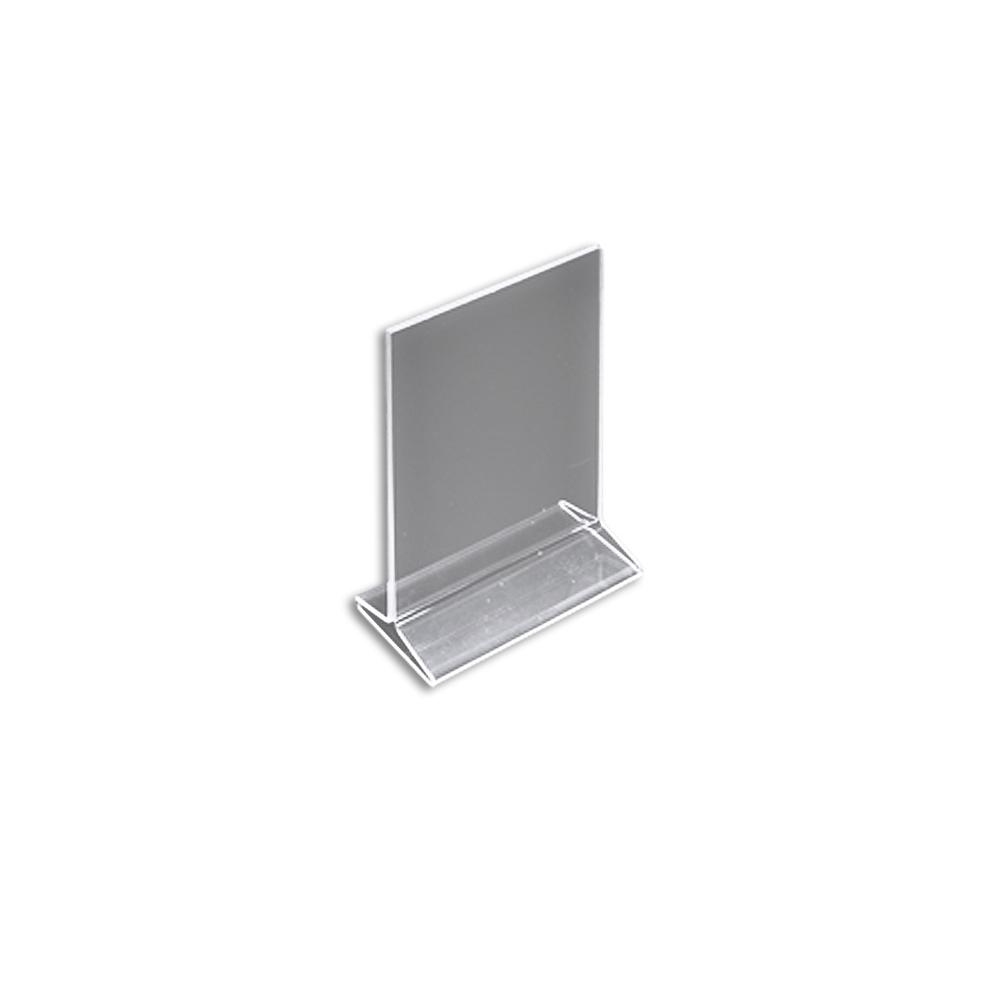 99401e970a215 Azar Displays 5.5 in. x 8.5 in. Vertical Top Load Acrylic Sign Holder