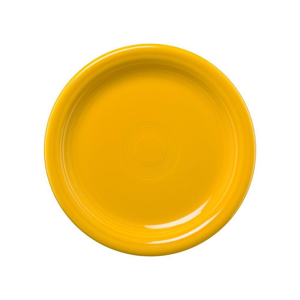 6.5 in. Daffodil Appetizer Plate