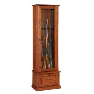 Stupendous American Furniture Classics 8 Gun Key Locking Gun Cabinet In Brown 1 600 The Home Depot Andrewgaddart Wooden Chair Designs For Living Room Andrewgaddartcom