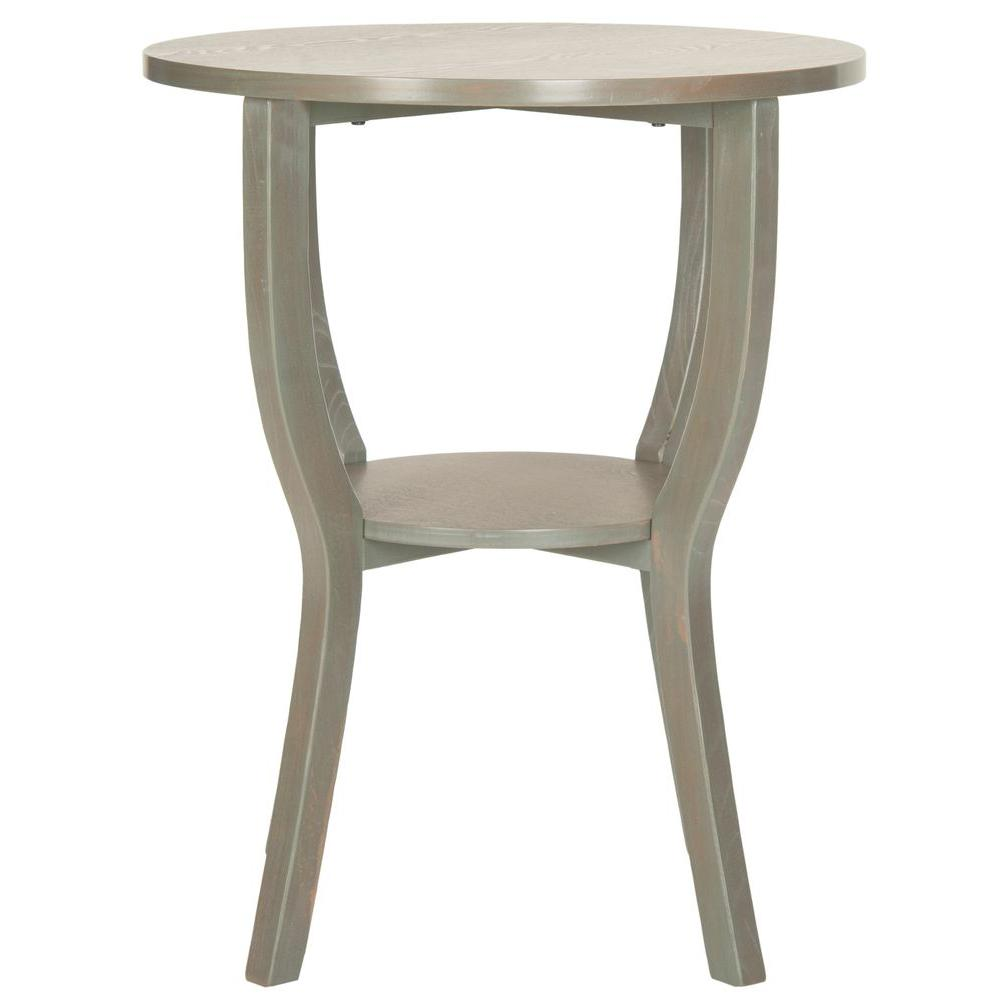 Safavieh rhodes french grey end table