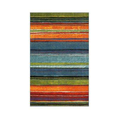 Rainbow Multi 6 ft. x 9 ft. Area Rug