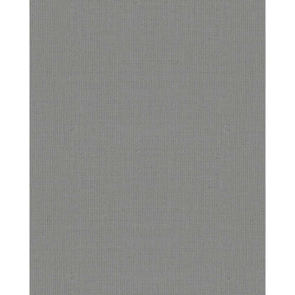 8 in. x 10 in. Vanora Dark Grey Linen Wallpaper Sample
