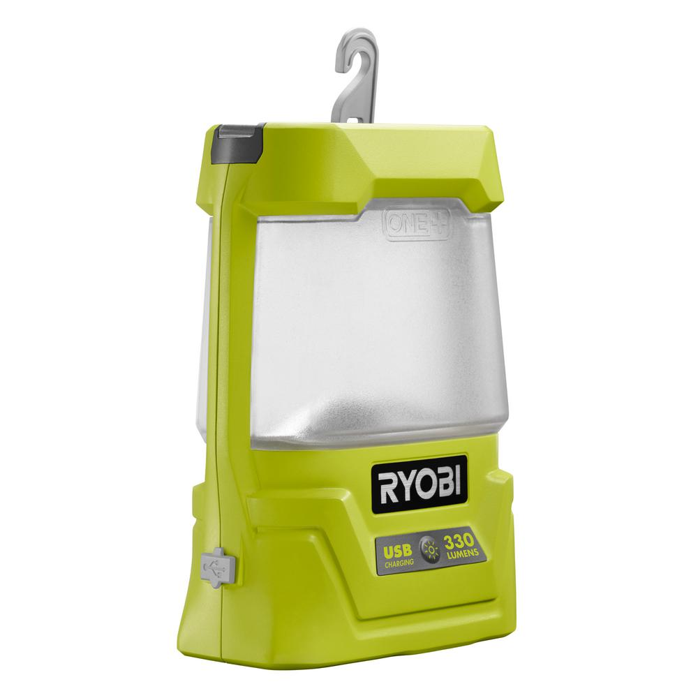 Ryobi 18-Volt ONE+ Cordless Area Light with USB Charger (Tool Only)