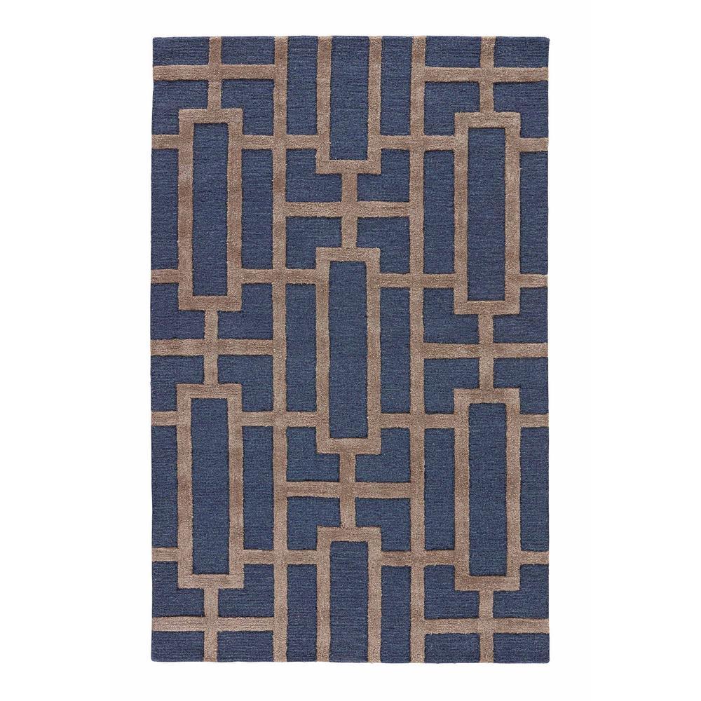 Kitchen Garden Jaipur: Jaipur Rugs Medieval Blue 5 Ft. X 8 Ft. Trellis Area Rug