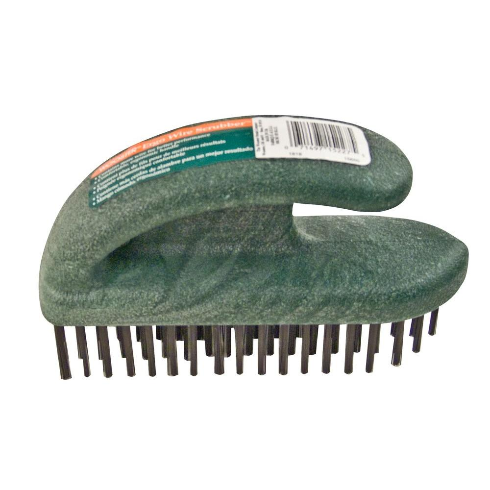 Wooster 6-3/4 in. Ergo Wire Scrub Brush