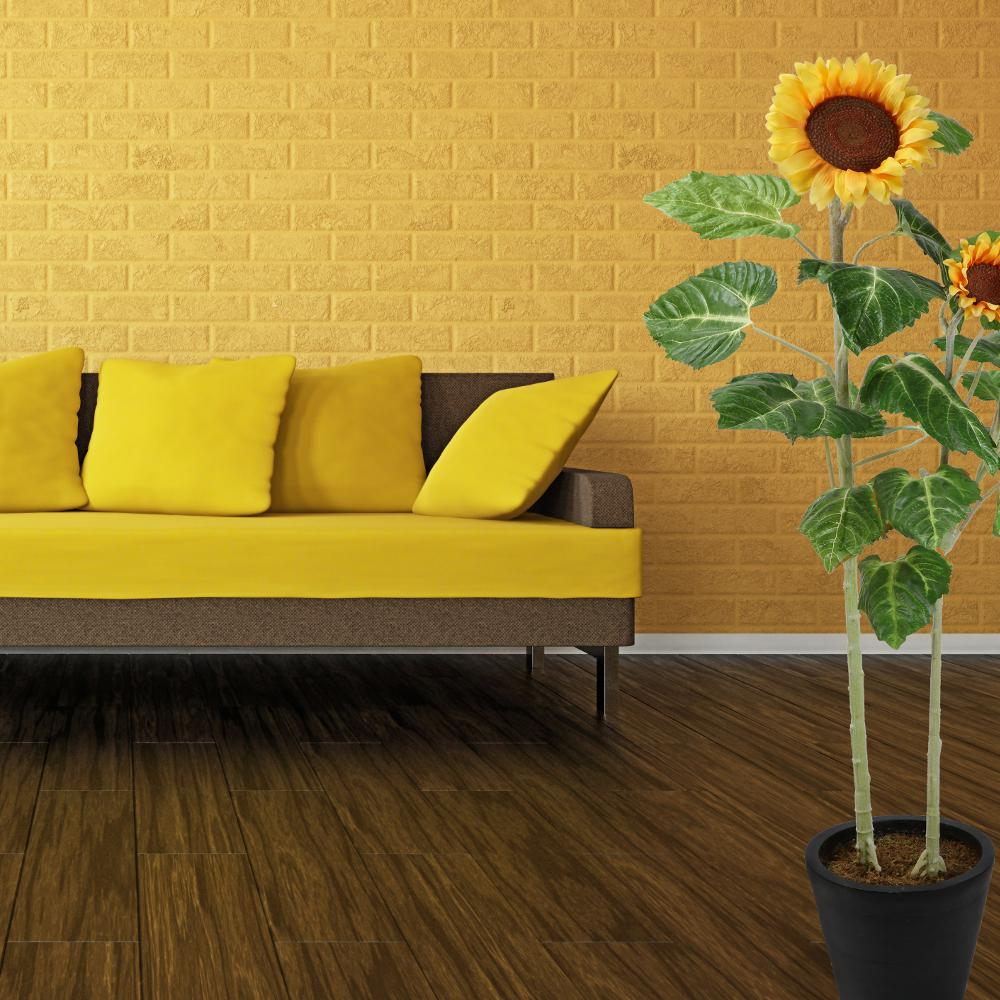 Breeze Point 57.75 In. Sunflower Plant-P00022S