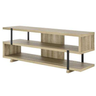 Easton Brown Oak 70 in. TV Stand