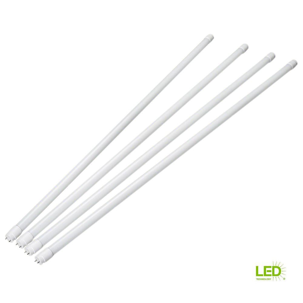 How To Convert T12 T8 Fluorescent Eti White 5000k Led Retrofit Kit Tubes With Sockets And Metal