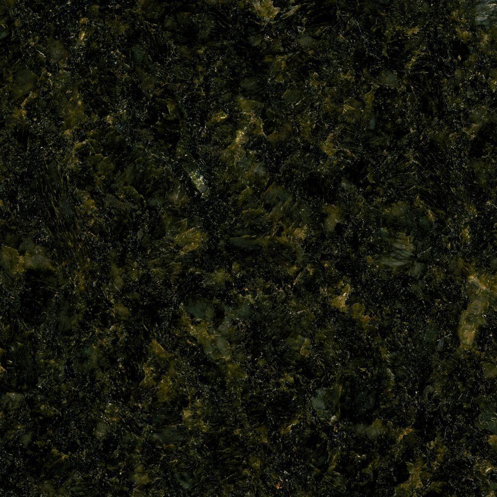 4 in. x 4 in. Natural Granite Vanity Top Sample in Uba Tuba