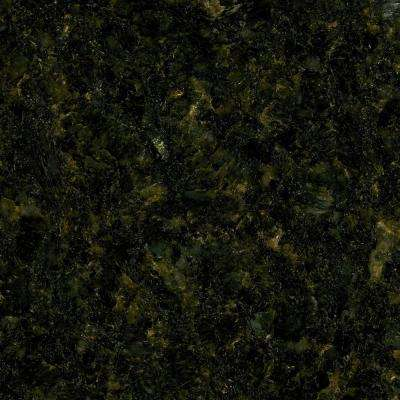 4 in. x 4 in. Natural Granite Vanity Top Sample in Uba Tuba