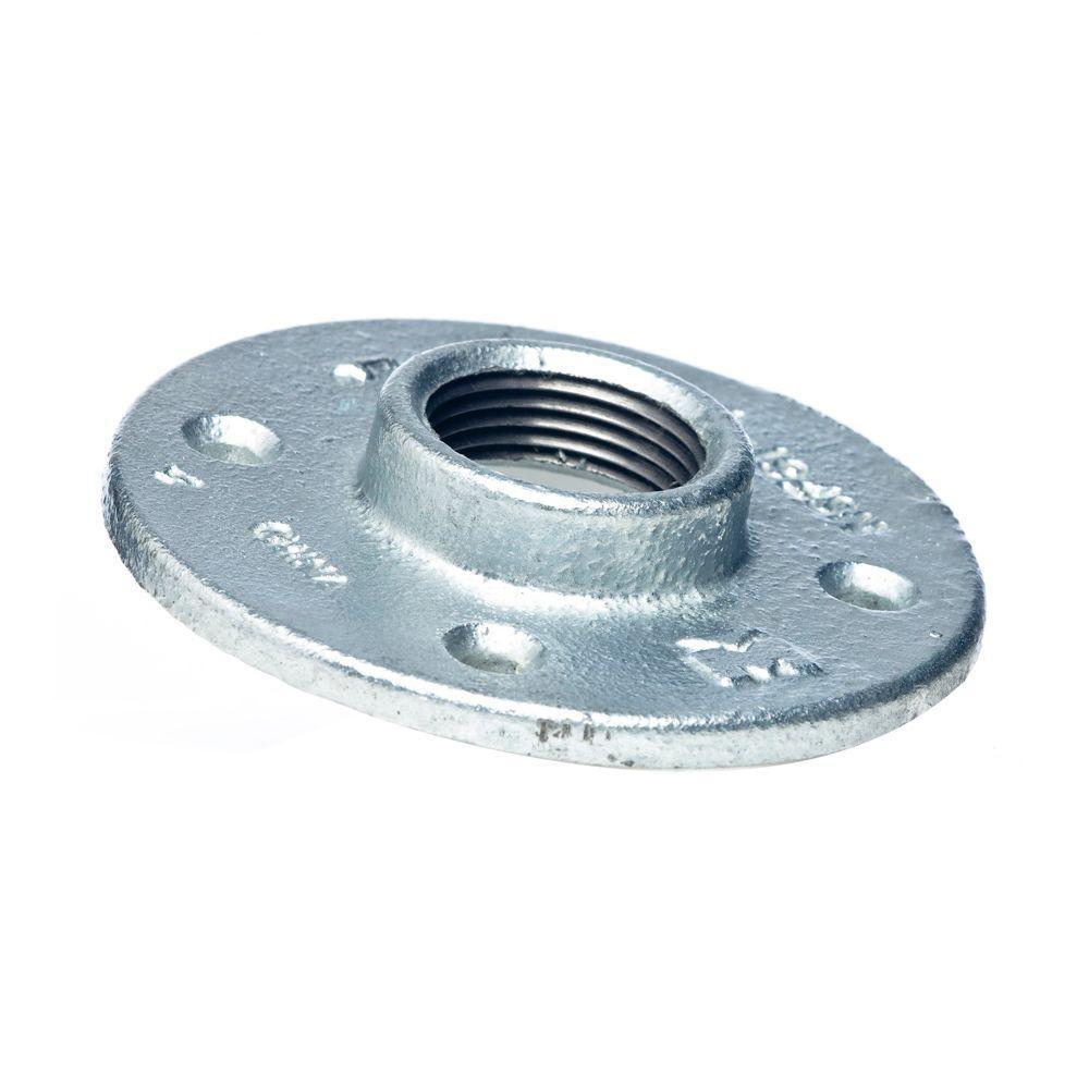 3/4 in. Galvanized Malleable Iron Floor Flange