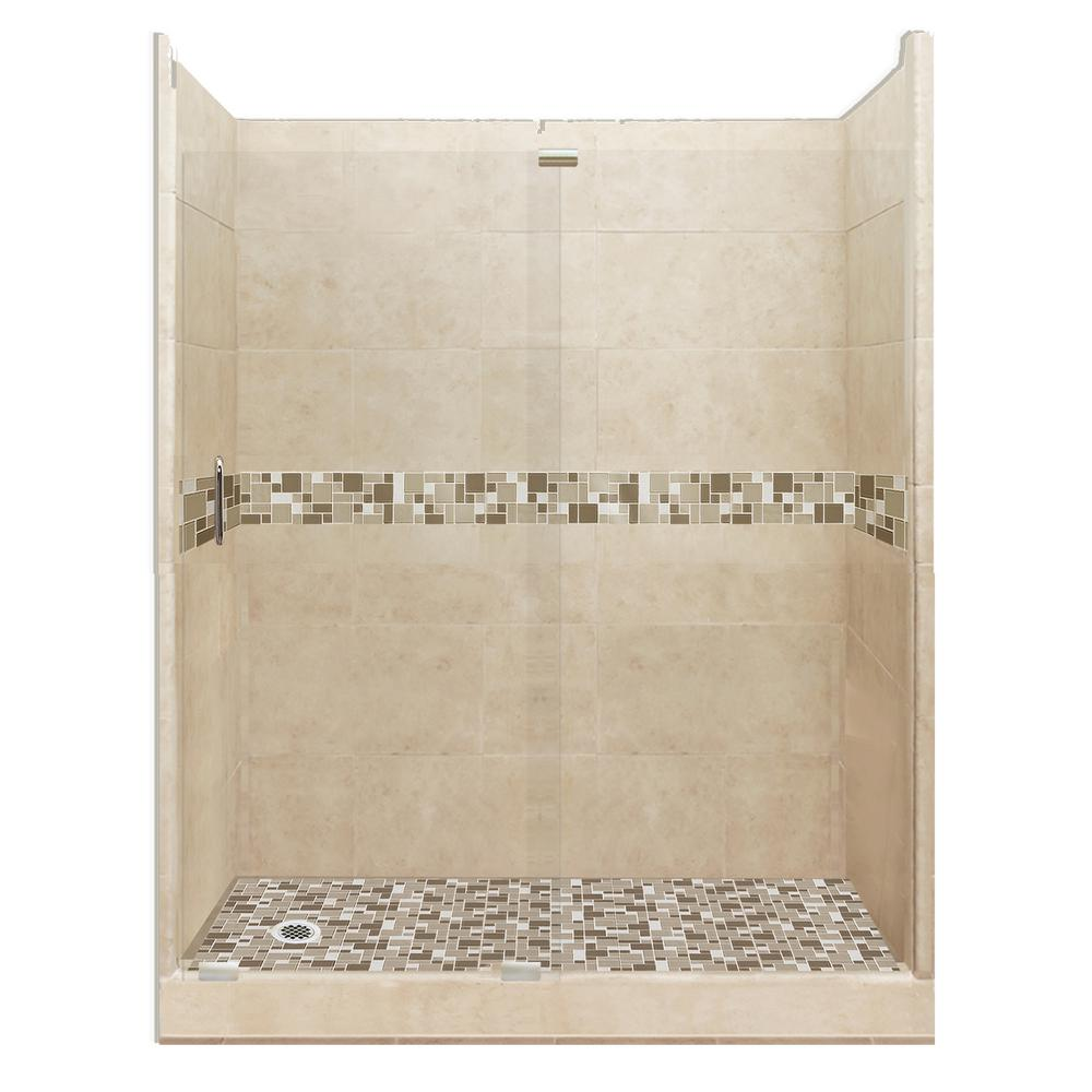 American Bath Factory Tuscany Grand Slider 36 In X 60 In