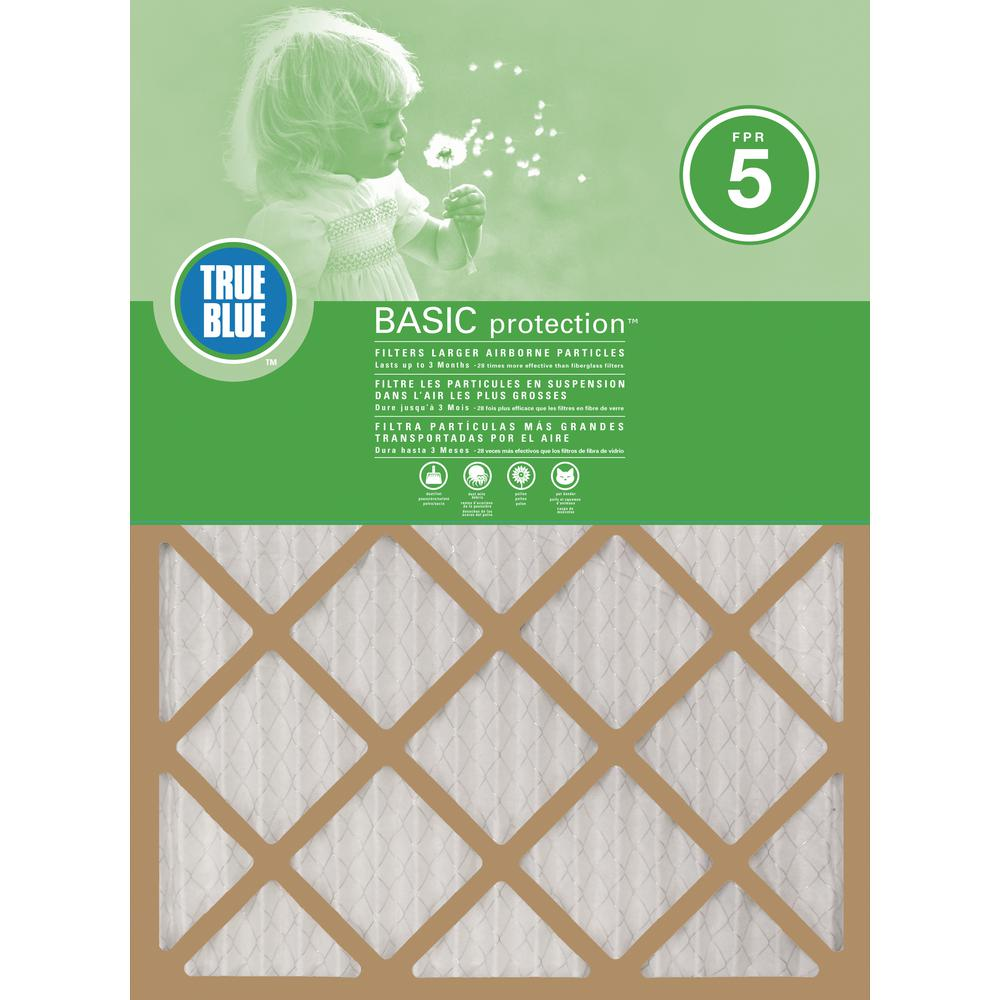 Protect Plus 10 in. x 20 in. x 1 in. Basic FPR 5 Pleated Air Filter (4-Pack)