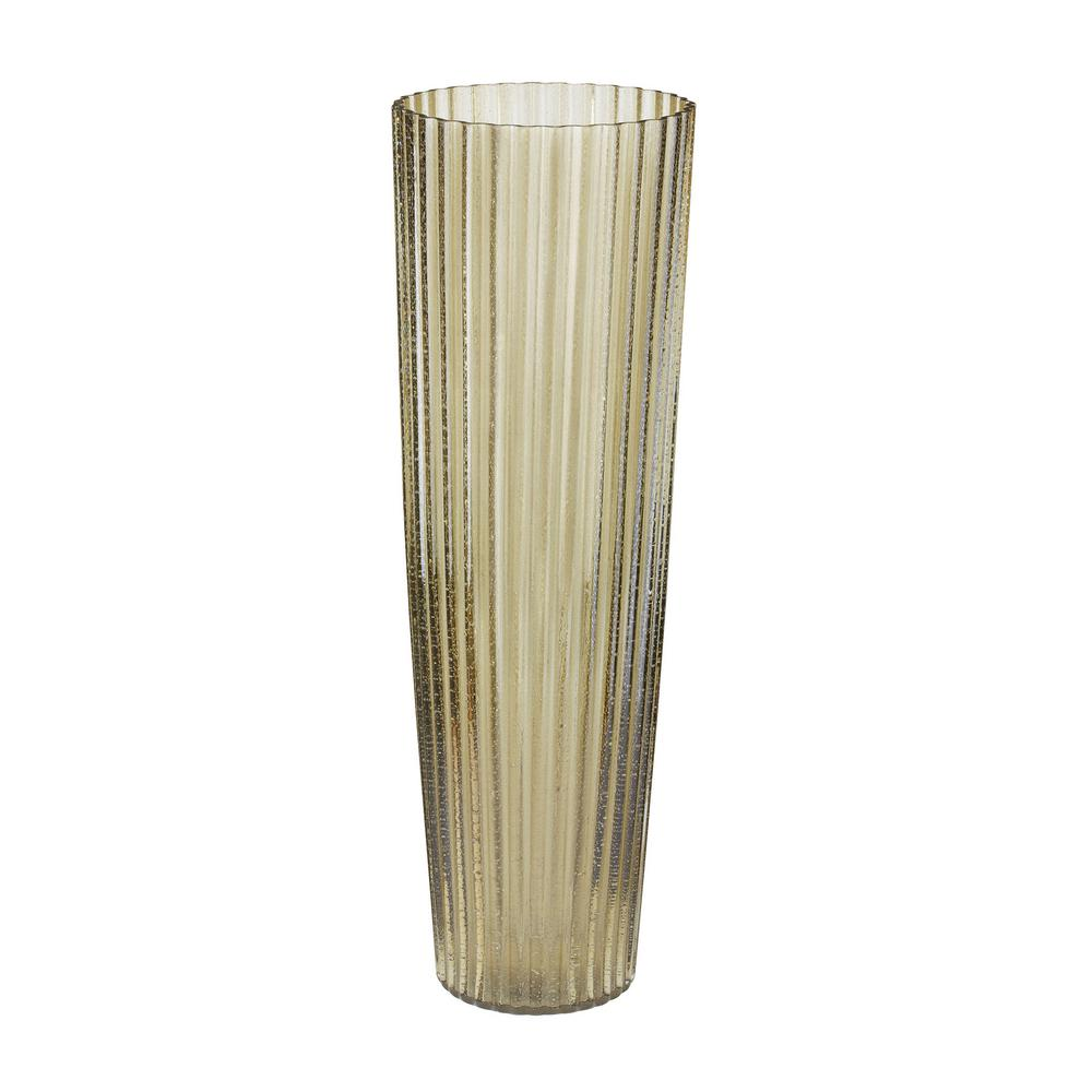 24 in. Champagne Fizz Fluted Glass Decorative