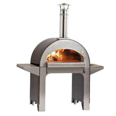 31.5 in. x 23.5 in. Outdoor Wood Burning Pizza Oven