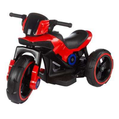 Red Battery Powered Trike Motorcycle Ride on Toy