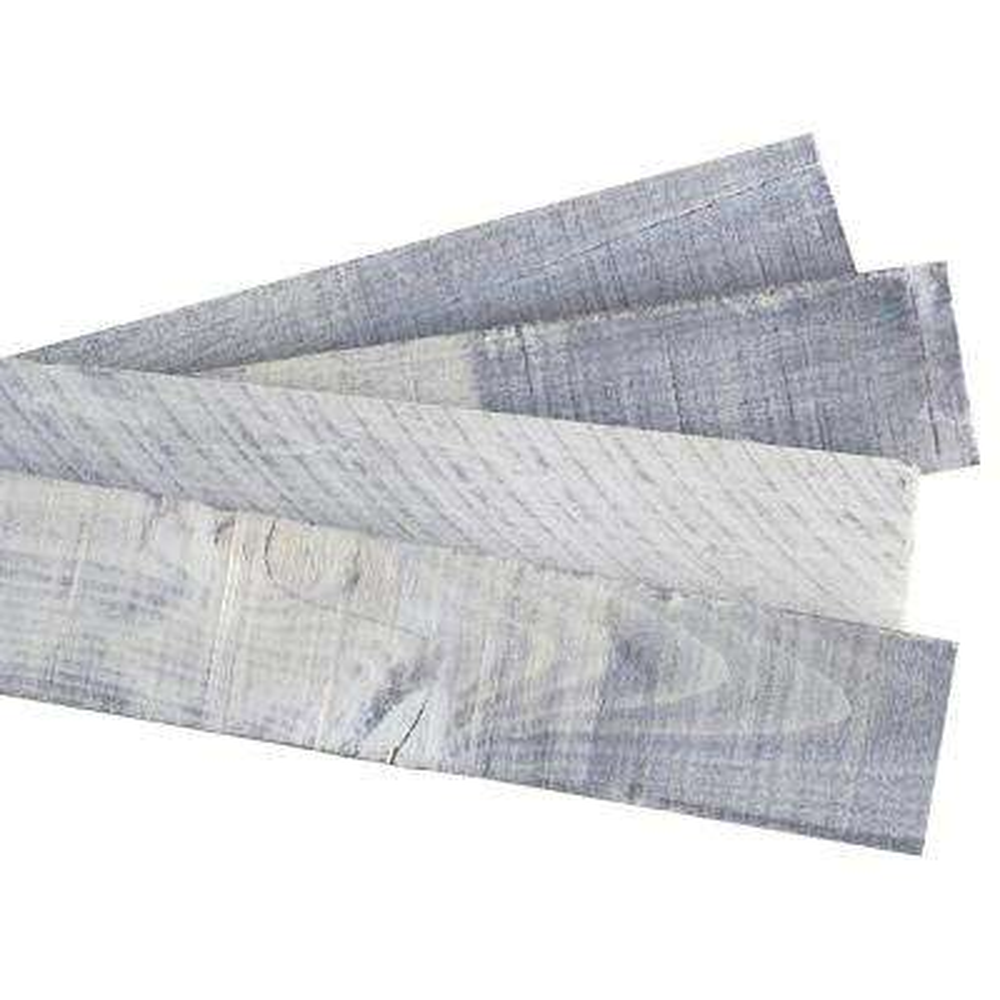 Weaber 1/2 in. x 4 in. x 4 ft. Nantucket Gray Poplar Weathered Board (8-Pack)