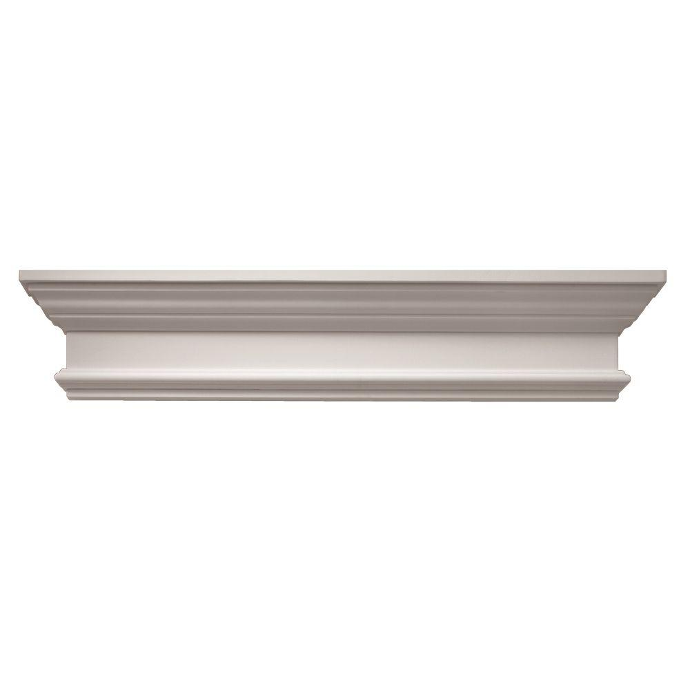 Polyurethane Window and Door Crosshead with Trim Strip-CCB36X8 - The Home Depot