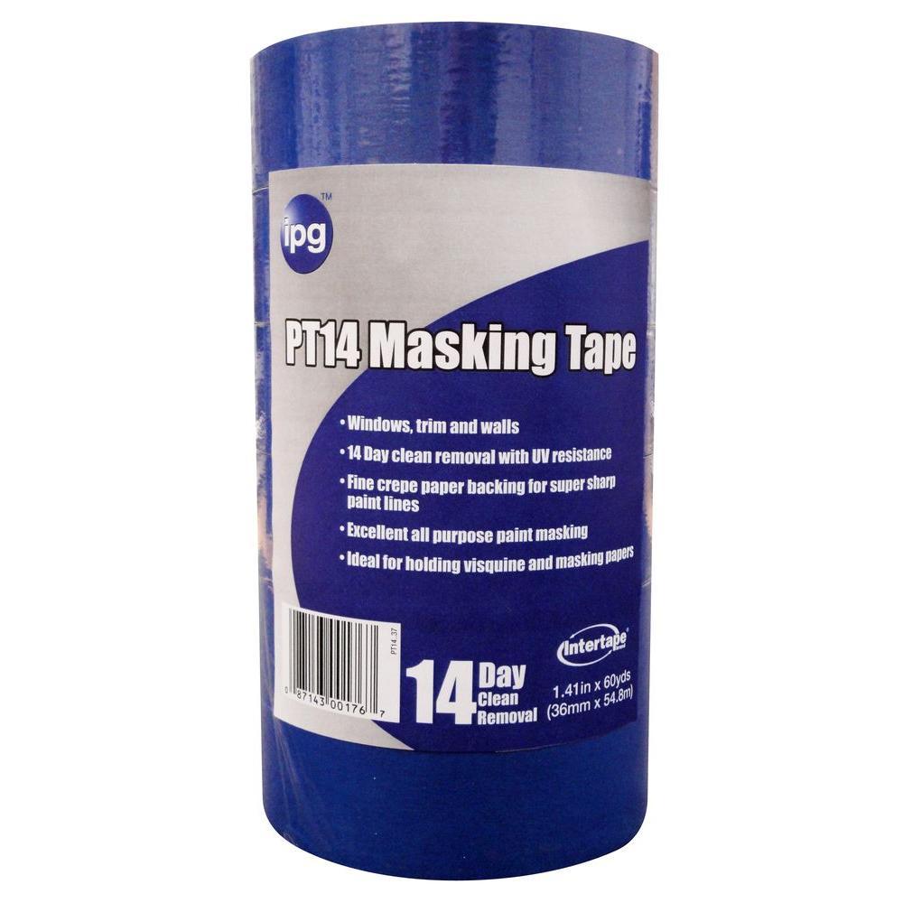 PT14 Pro Mask Blue 1.5 in. x 60 yd. Masking Tape (6-Pack)