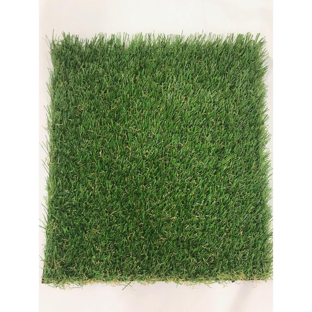 TruGrass Clover Fescue 12 ft. Wide x Cut to Length Artificial Grass