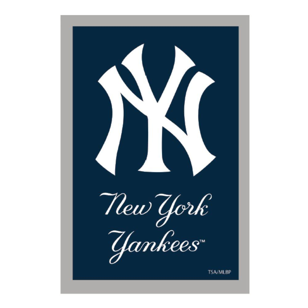 MLB 1 ft. x 1-1/2 ft. New York Yankees 2-Sided Garden