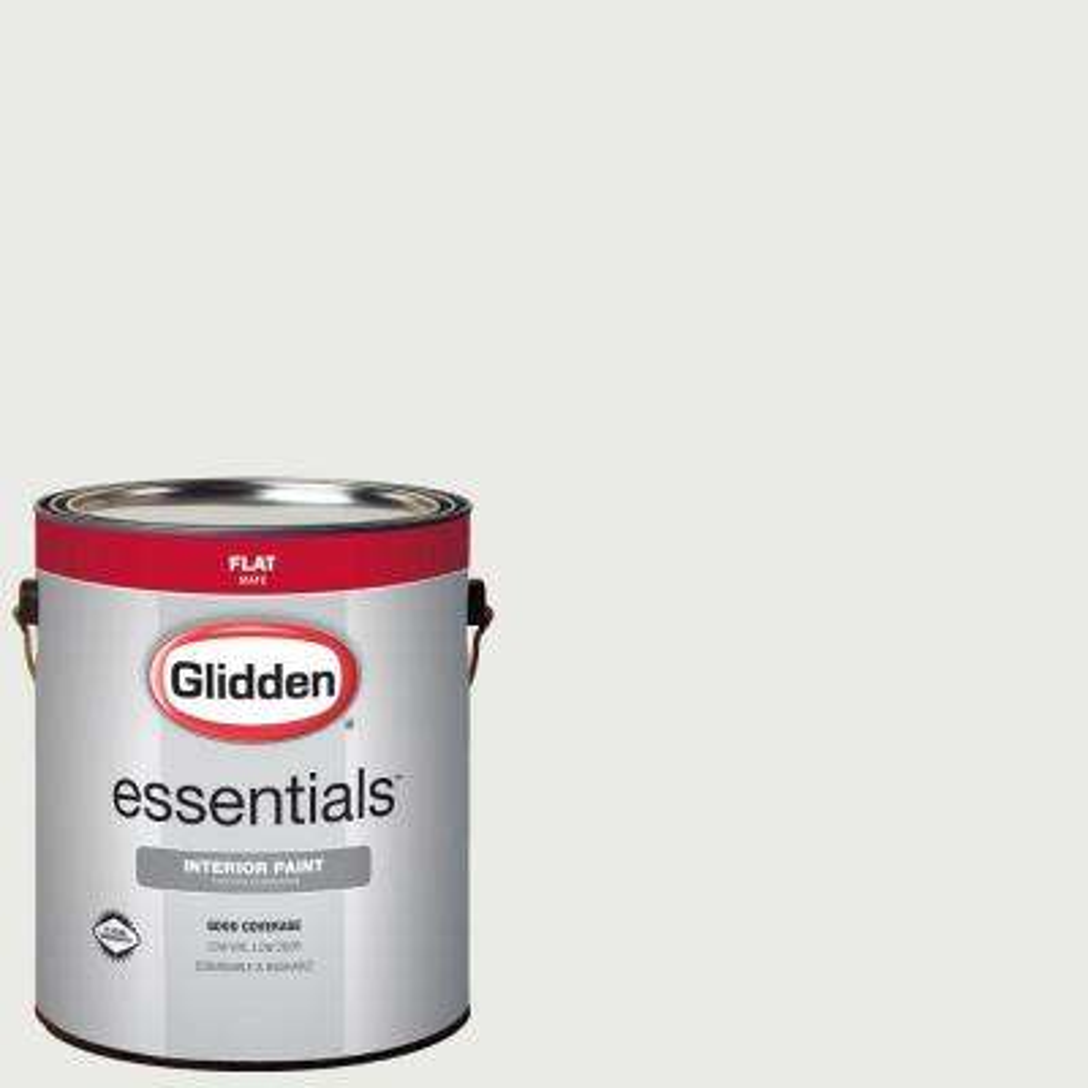 1 gal. #HDGG43U Extreme White Flat Interior Paint