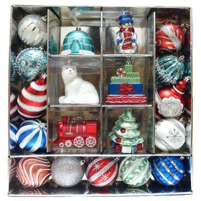 HAH Cheerful Tiding Ornament Set (19-Count)