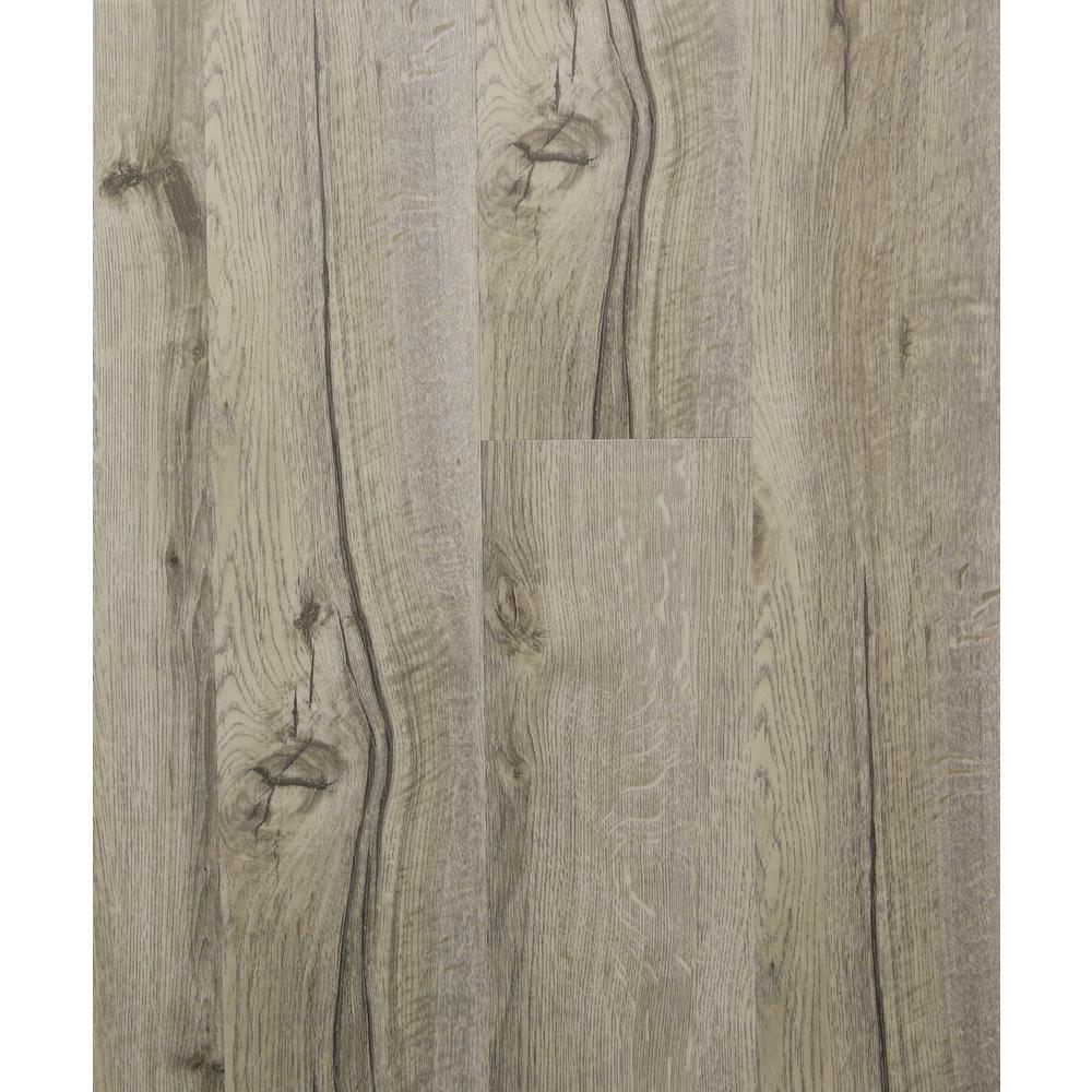 Tahitian Sand 5.91 in. x 48 in. HDPC Floating Vinyl Plank Flooring (19.69 sq. ft. per case)
