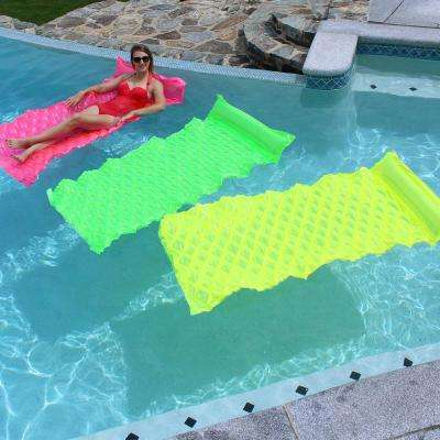 Green, Pink and Yellow Smart Pool Float (3-Pack)