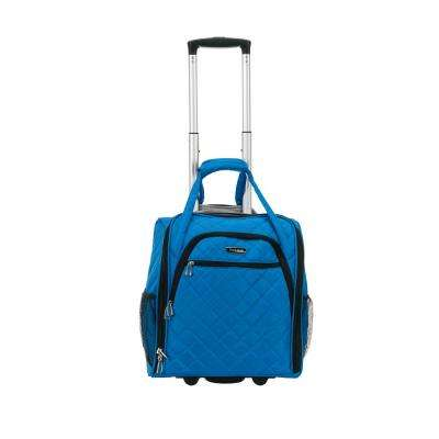Blue Melrose Wheeled Underseat Carry-On