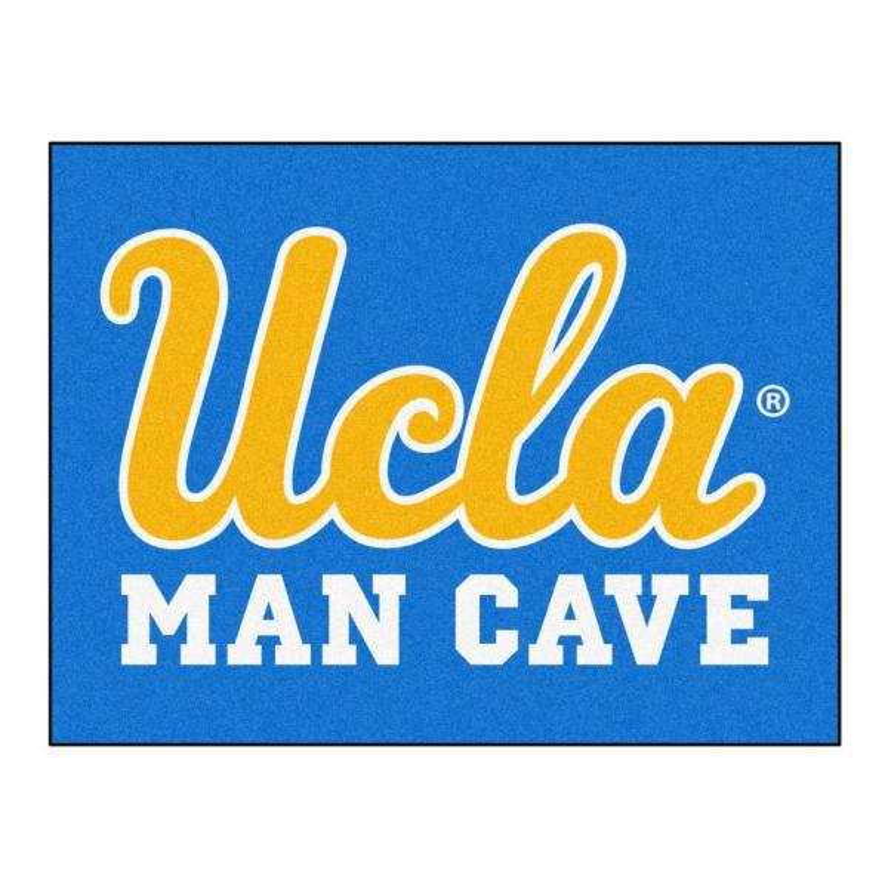 UCLA Blue Man Cave 3 ft. x 4 ft. Area Rug