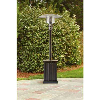 48,000 BTU Black Gas Patio Heater