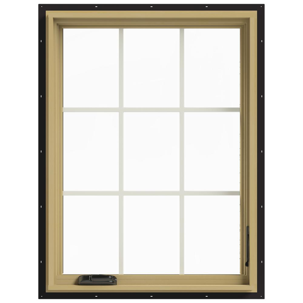 Aluminum Windows Product : Jeld wen in w right hand casement